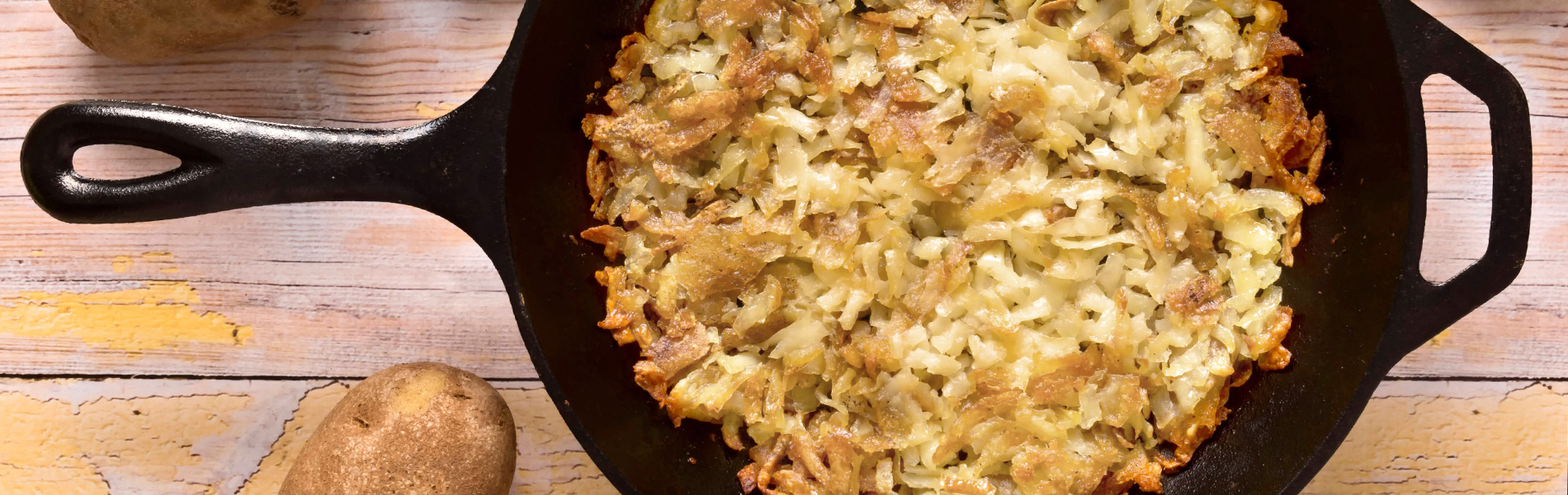 Rösti with Baby Swiss (Swiss Fried Potatoes)